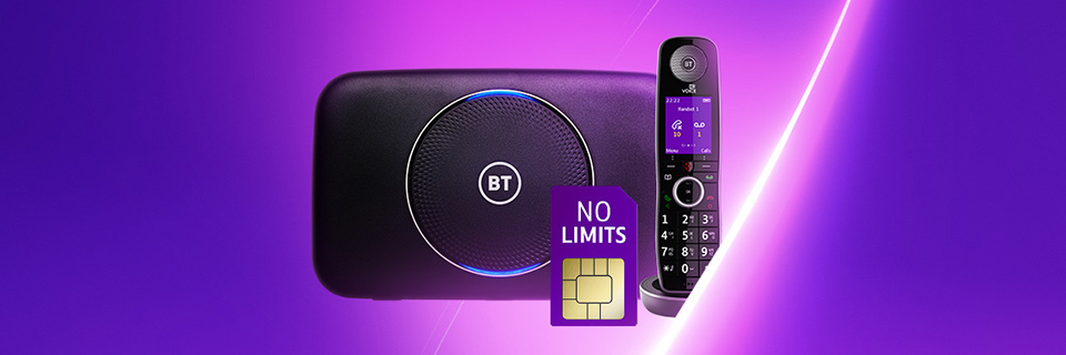 Unlimited plans with BT Halo