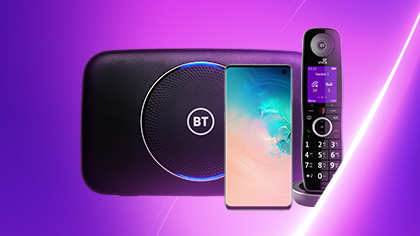 BT Unlimited mobile, home phone and broadband...