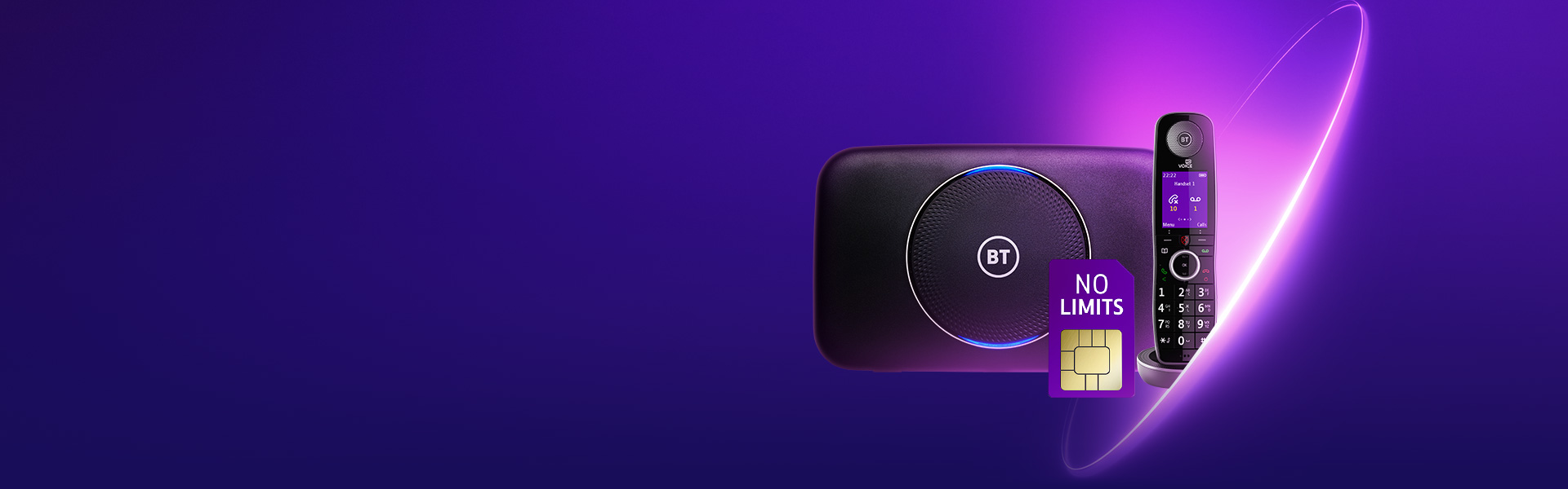 BT No Limits on your mobile, home phone and broadband