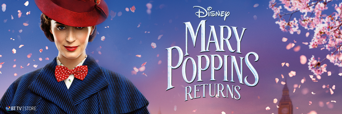 Watch Mary Poppins Returns on BT TV