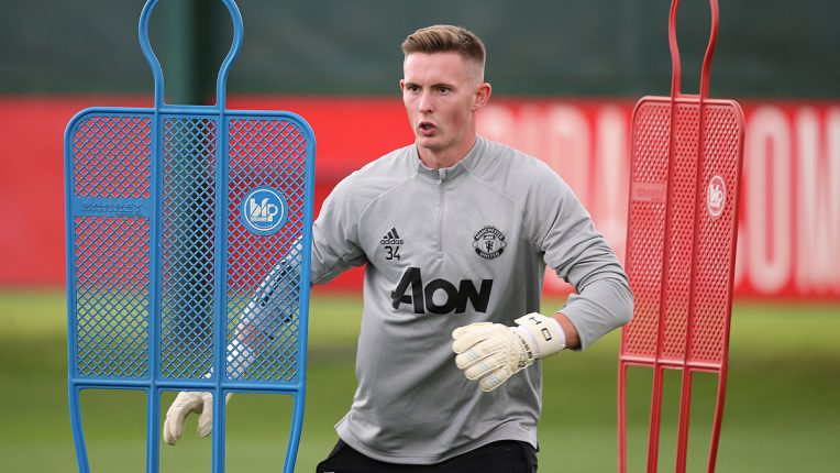 Dean Henderson wants the Manchester United No 1 spot