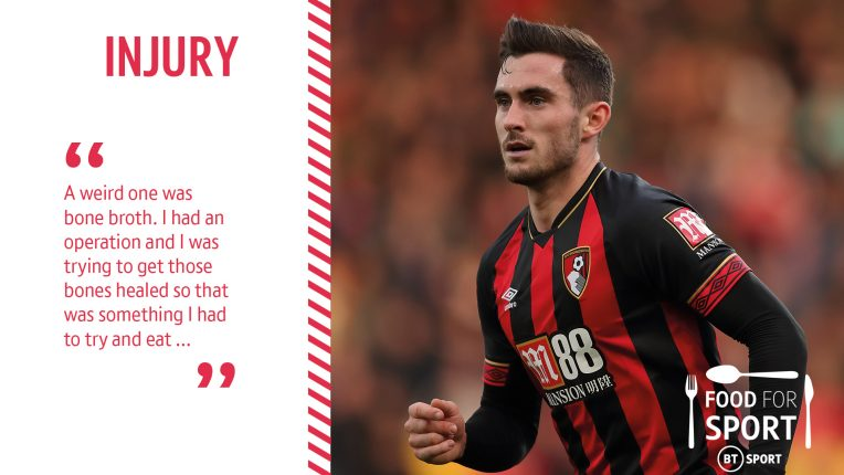 Lewis Cook describing injury recovery