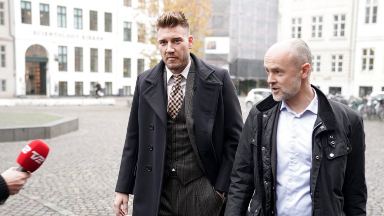 Bendtner was sentenced to 50 days in jail in Denmark for a 2018 assault
