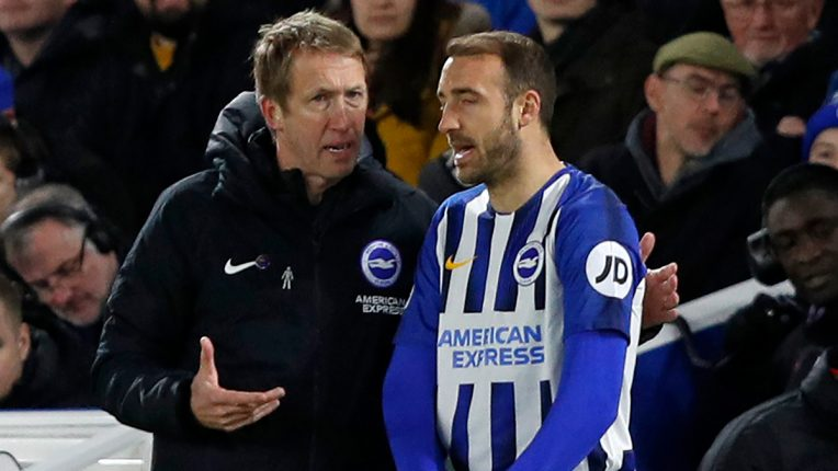 Glenn Murray revealed that Graham Potter has been in constant contact with the squad.