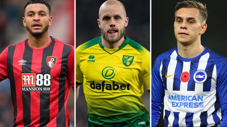 Brighton, West Ham, Watford, Aston Villa, Bournemouth and Norwich are all scrapping for survival with six games to play