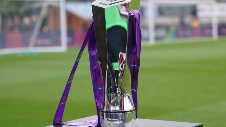 Women's Super League trophy