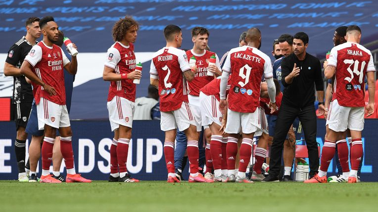 Arsenal coach Mikel Arteta was permitted to make five substitutes in the 2020 FA Cup final