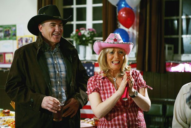 Larry Lamb and Alison Steadman in Gavin and Stacey