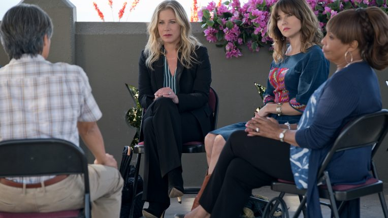 Christina Applegate and Linda Cardellini in Netflix comedy Dead to Me