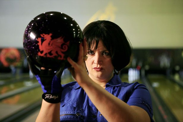 Ruth Jones as Nessa in Gavin and Stacey