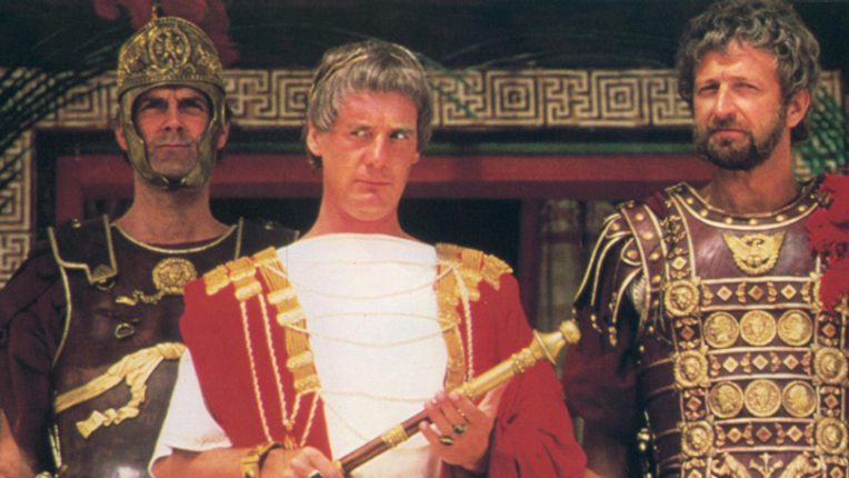 John Cleese, Michael Palin and Graham Chapman in Life of Brian