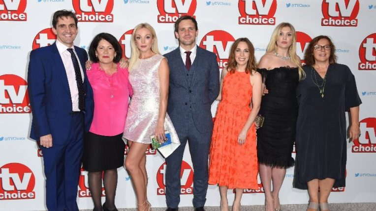 The Call The Midwife cast at the 2016 TV Choice Awards