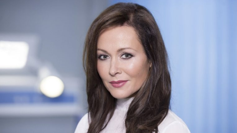 Amanda Mealing as Connie Beauchamp in BBC's Casualty