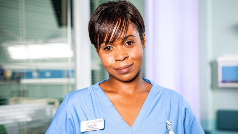 Azuka Oforka as Louise Tyler in Casualty
