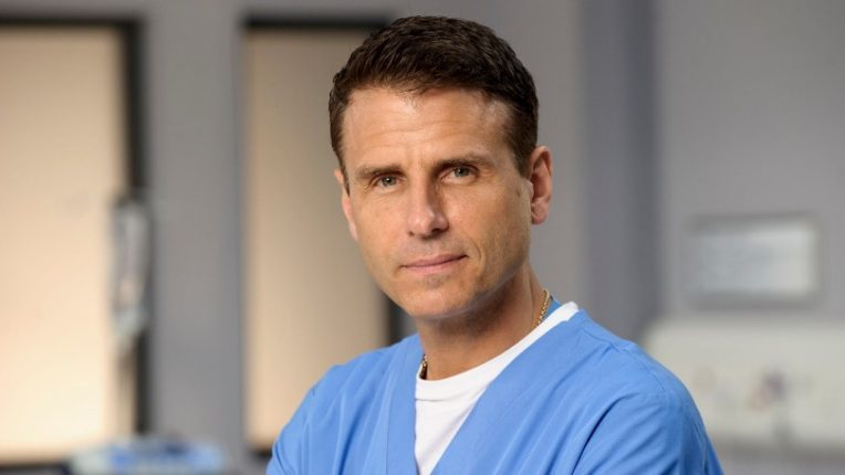 Jason Durr as David Hide in Casualty