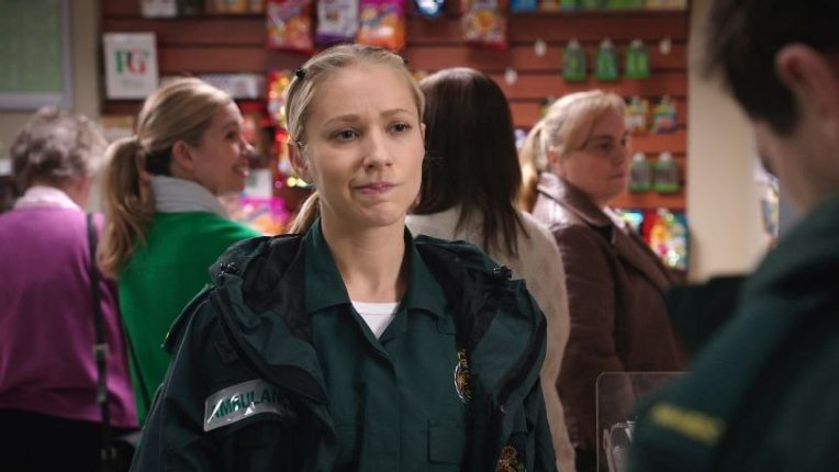 Maddy Hill as Ruby Sparks in Casualty