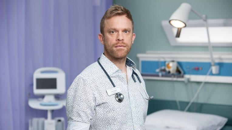 William Beck as Dylan Keogh in BBC drama Casualty