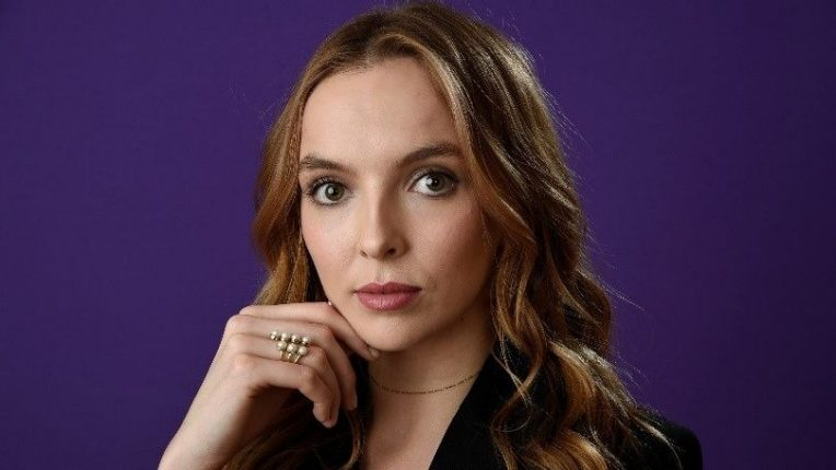 Jodie Comer as Villanelle in BBC's Killing Eve