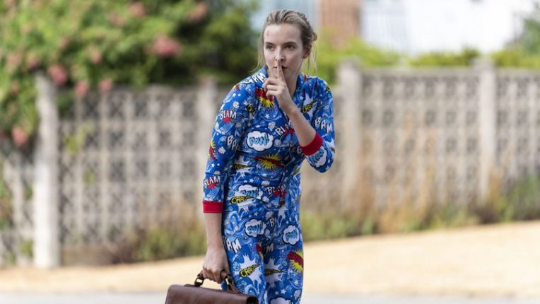 Jodie Comer as Villanelle in series 2 of Killing Eve