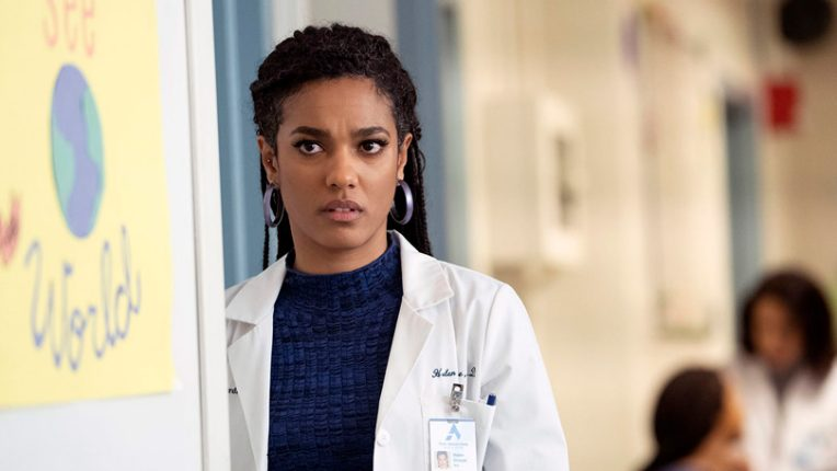 Freema Agyeman in New Amsterdam