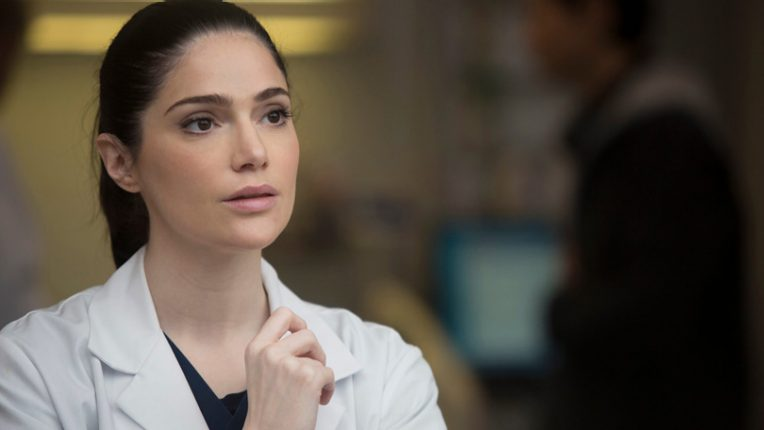 Janet Montgomery as Dr Lauren Bloom in New Amsterdam