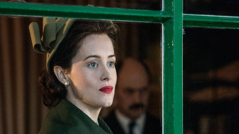 Claire Foy as Queen Elizabeth II in Netflix drama, The Crown