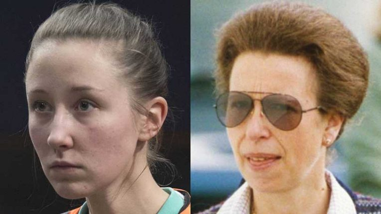 Erin Doherty and Princess Anne
