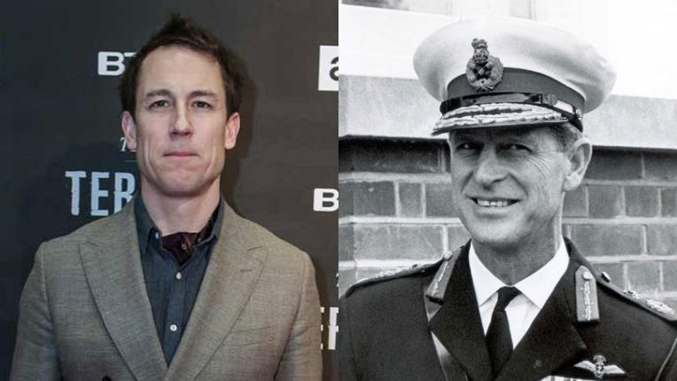 Tobias Menzies and Prince Philip, the Duke of Edinburgh