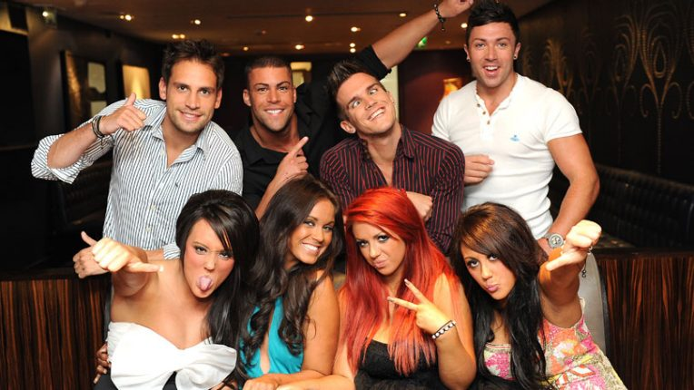 The cast of the original series of Geordie Shore