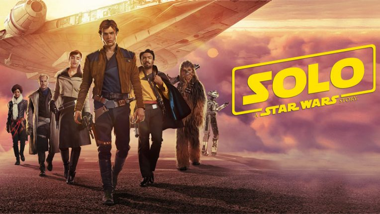 Solo: A Star Wars Story packshot