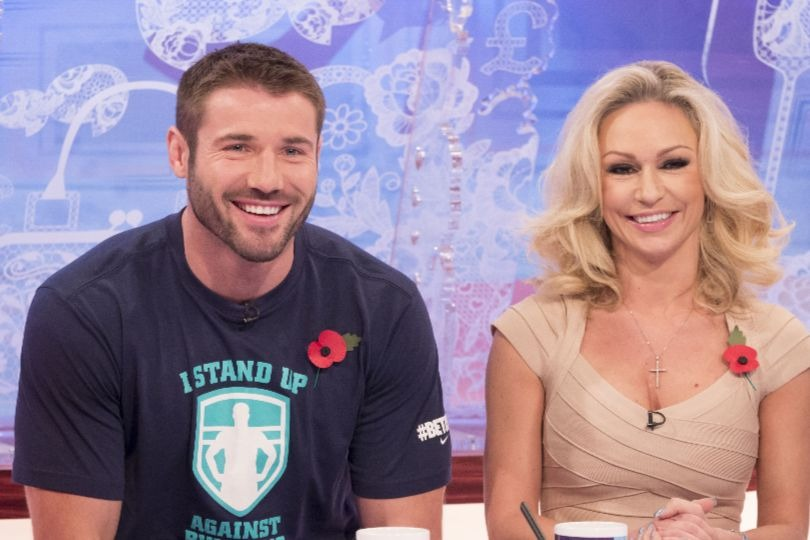 Strictly Come Dancing couple Ben Cohen and Kristina Rihanoff