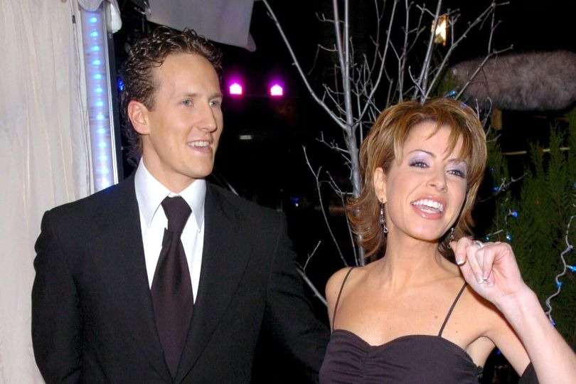 Former Strictly Come Dancing contestants Brendan Cole and Natasha Kaplinsky