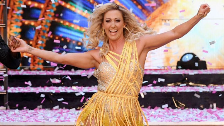 Faye Tozer on Strictly Come Dancing