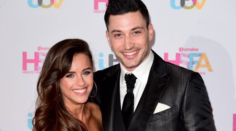 Strictly Come Dancing couple Georgia May Foote and Giovanni Pernice