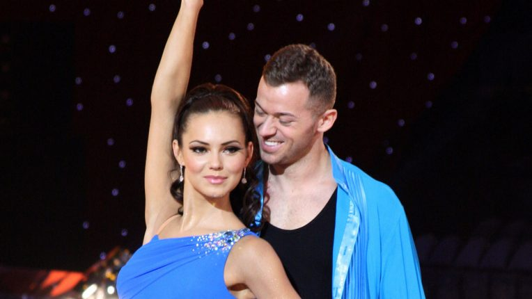 Strictly Come Dancing couple Kara Tointon and Artem Chigvintsev