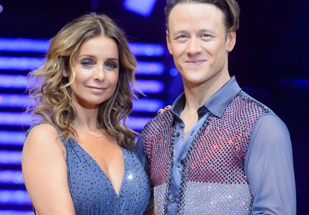 Louise Redknapp and Kevin Clifton on Strictly Come Dancing