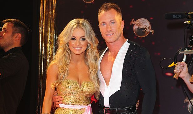 Ola Jordan and James Jordan on Strictly Come Dancing