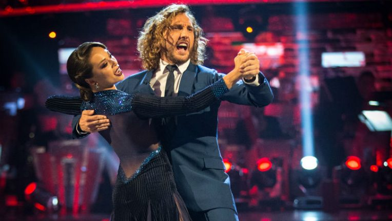 Katya Jones and Seann Walsh on Strictly Come Dancing