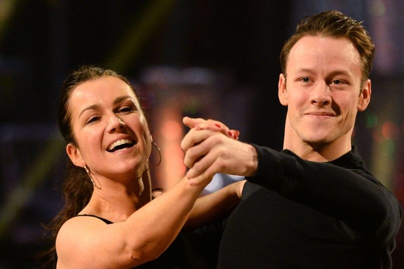 Strictly Come Dancing contestants Susanna Reid and Kevin Clifton