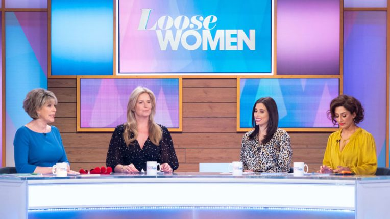 The Loose Women panel including Vicky Pattison