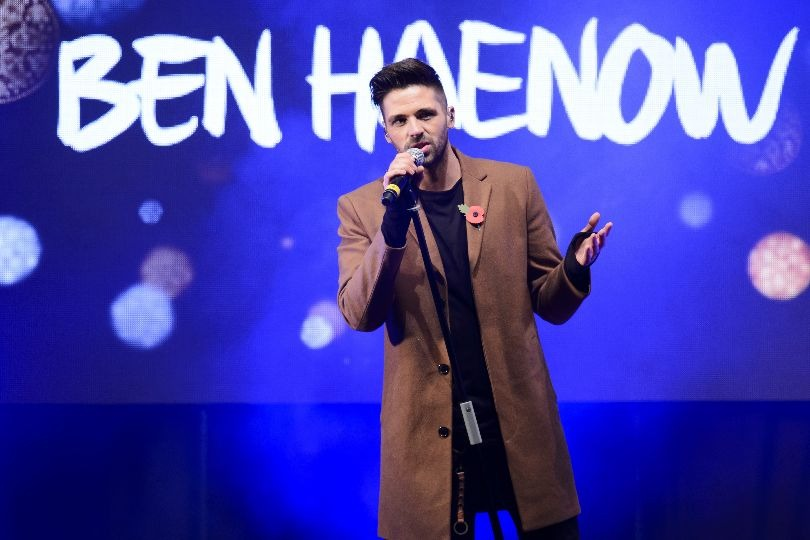 X Factor winner Ben Haenow