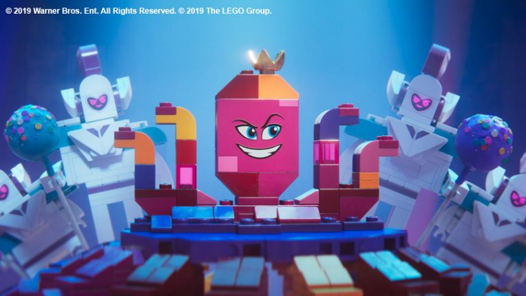 Queen Watevra in The Lego Movie 2