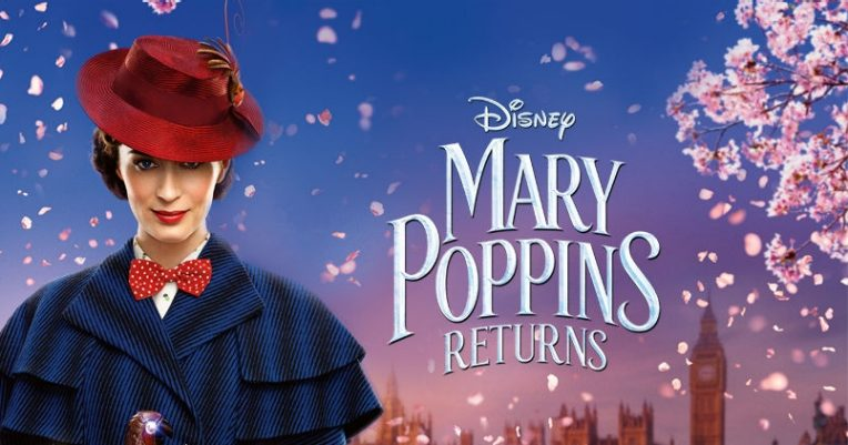 Mary Poppins Returns key art