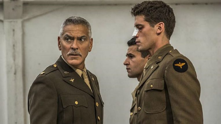 George Clooney in the TV adaptation of Catch-22