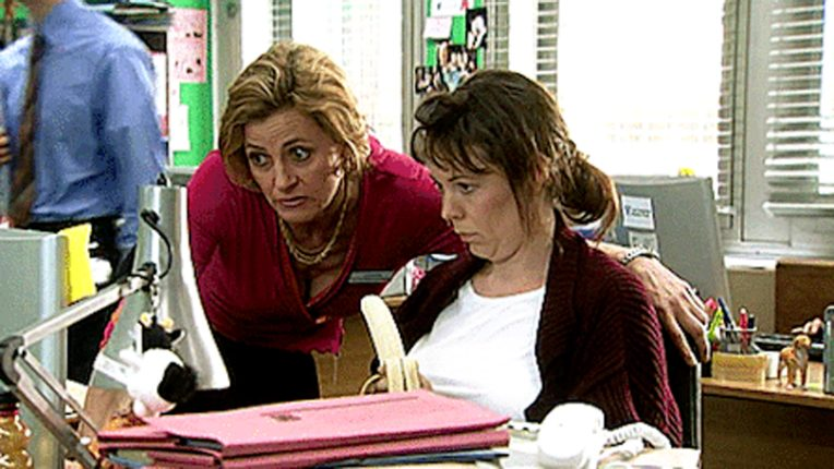 Olivia Colman in Channel 4 comedy Green Wing