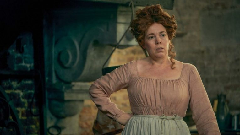 Olivia Colman as Madame Thénardier  in Les Miserables