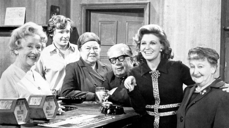 The Coronation Street cast in the 1960s