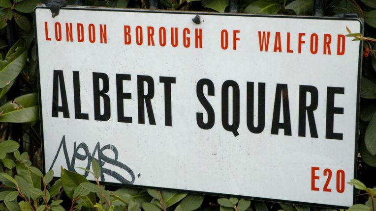 Albert Square in EastEnders