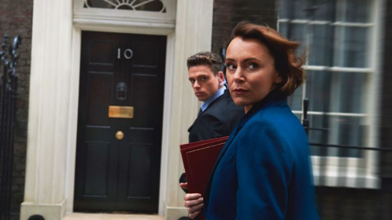 Keeley Hawes as Julia Montague in Bodyguard