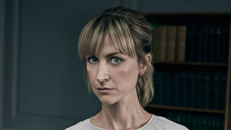 Katherine Hall as Leah in ITV's Cheat